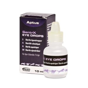 SentrX Eye Drops - Artificial Tears Developed for Dogs, Cats and Horses